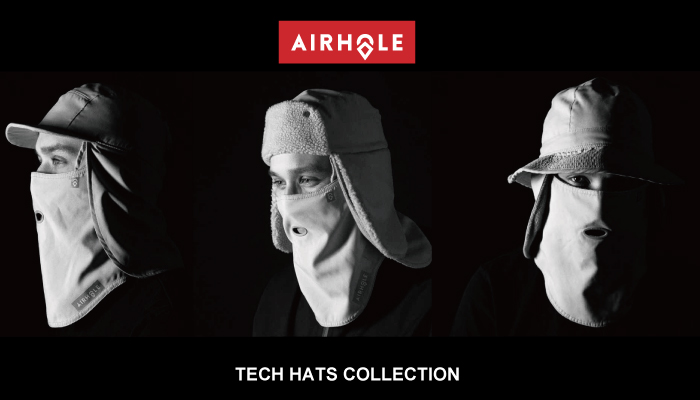 AIR HOLE -TECH HAT COLLECTIONS-