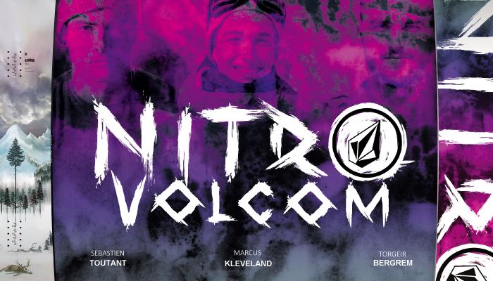 18-19 NITRO 「BEAST」 &「 BEAST x VOLCOM」
