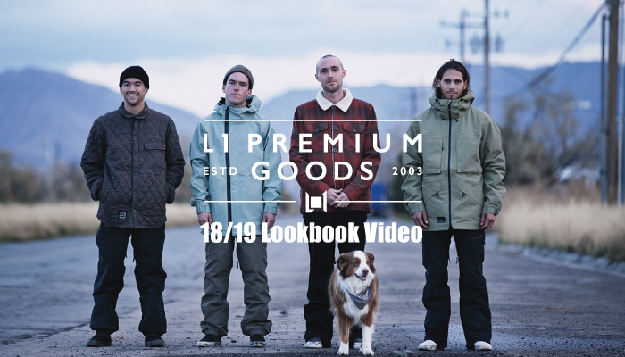 L1 Premium Goods -18/19 Lookbook Video-