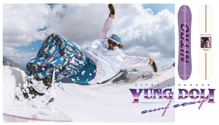 「NITRO x DOODAH」YUNG DOLIレイトモデル発売