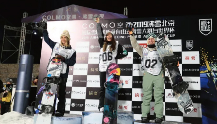 「AIR + STYLE Beijing 2019」鬼塚 雅が優勝