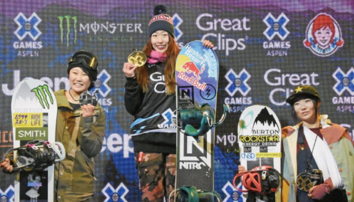 「X Games Aspen2020」Big Air鬼塚 雅が優勝