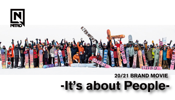 NITRO BRAND MOVIE「It's about People」