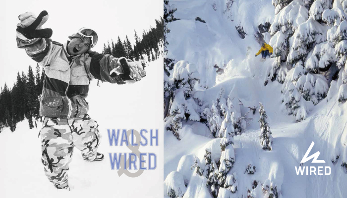 WALSH&WIRED SNOWBOARDS