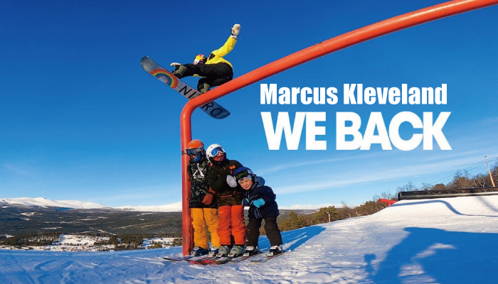 Marcus Kleveland-We back!